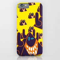 iPhone & iPod Case featuring Happy Monsters by Clara Ungaretti