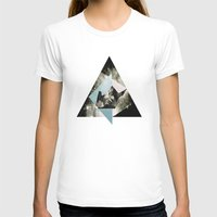 Kindred Womens Fitted Tee White SMALL