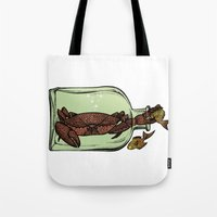 Bottle crab Tote Bag