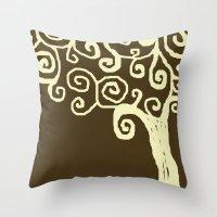 Jude's Tree Throw Pillow