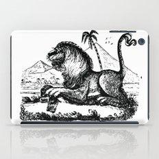 Vintage Lion #2 iPad Case
