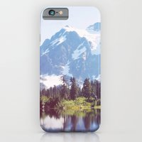 iPhone & iPod Case featuring Picture Lake by sparkofinspiration