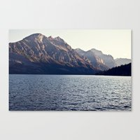 Blue Mountain Lake Canvas Print