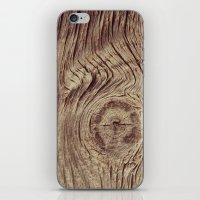 Vintage Weathered Wood iPhone & iPod Skin