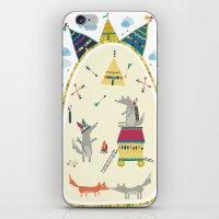 WOLF 2 iPhone & iPod Skin