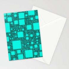 Electronics Blue Stationery Cards