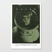Alien Movie Poster Canvas Print