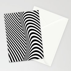 Black and White Pop Art Stationery Cards