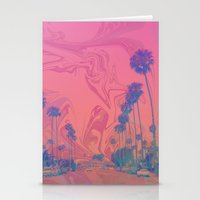 california Stationery Cards featuring California by Calepotts