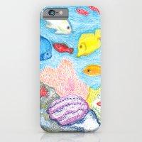 Crayon Fish iPhone 6 Slim Case