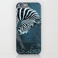 blue zebra iPhone 6 Slim Case