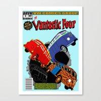 Vantastic four Canvas Print