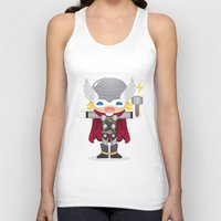 THOR ROBOTIC Unisex Tank Top