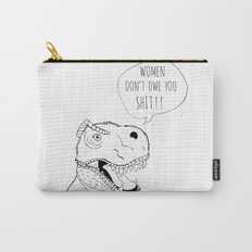 Feminist T-Rex Carry-All Pouch