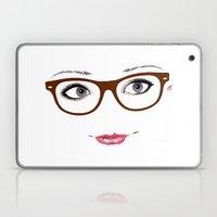 Hipster Eyes 1 Laptop & iPad Skin