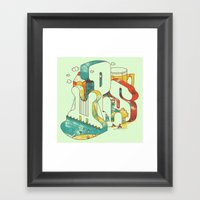 Locals Only - Minneapoli… Framed Art Print