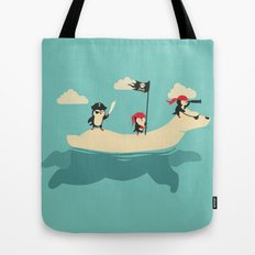 The Scourge of the Arctic Tote Bag