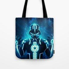 Tron Vader Blue Tote Bag