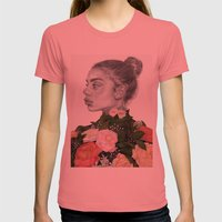 He Lives In My Heart Womens Fitted Tee Pomegranate SMALL