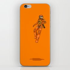 FLOAT - Out in space iPhone & iPod Skin
