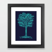 Trunklines Framed Art Print