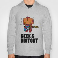 GEEK & DISTORT Hoody