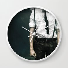 abyss of the disheartened VIII Wall Clock