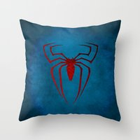 The Spider Man Throw Pillow