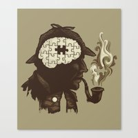 Puzzle Solved Canvas Print