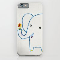 iPhone & iPod Case featuring E Elephant by Penguin & Fish