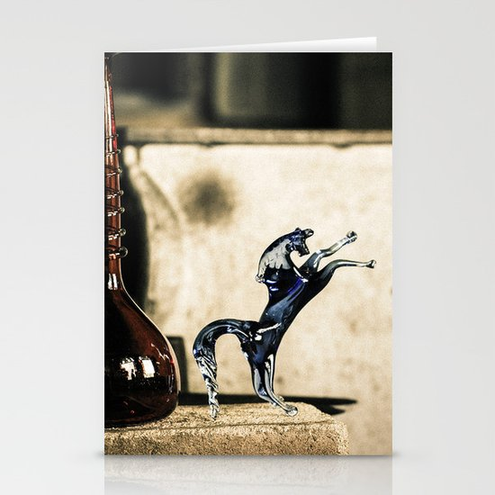 Horse of Glass, Italy Stationery Card