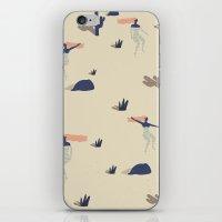 Dezert swim iPhone & iPod Skin