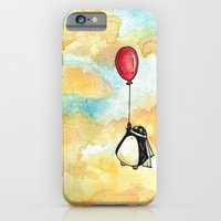 Penguin And A Red Balloo… iPhone 6 Slim Case