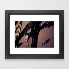 Salida Framed Art Print