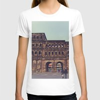 Gate to Another World Womens Fitted Tee White SMALL