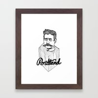 Ode to Portland II  Framed Art Print
