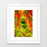 Taken In Framed Art Print