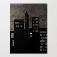 City Skyline Light Canvas Print
