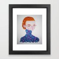 Recato/Demureness Framed Art Print