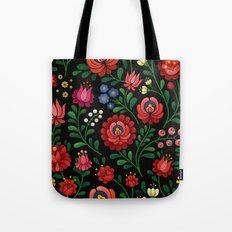 Hungarian flowers Tote Bag