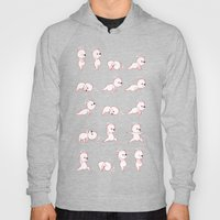 Yoga Bear - Polar Bear Hoody