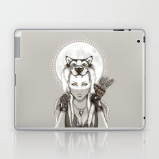 Fear Makes the Wolf... Laptop & iPad Skin