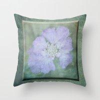 Pretty In Mauve 3D Throw Pillow