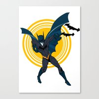 the Bat dude Canvas Print