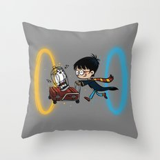Harry Portal Throw Pillow