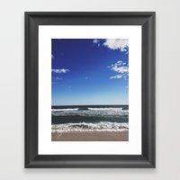 Cupsogue Beach, Long Isl… Framed Art Print