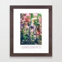Junglism 3 Framed Art Print