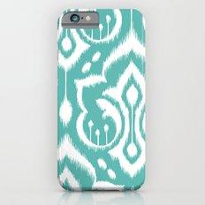 Ikat Damask Aqua Slim Case iPhone 6s