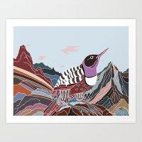 Arid Eden Art Print