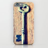 iPhone & iPod Case featuring Heart Shaped Key by ALWYSGLDN